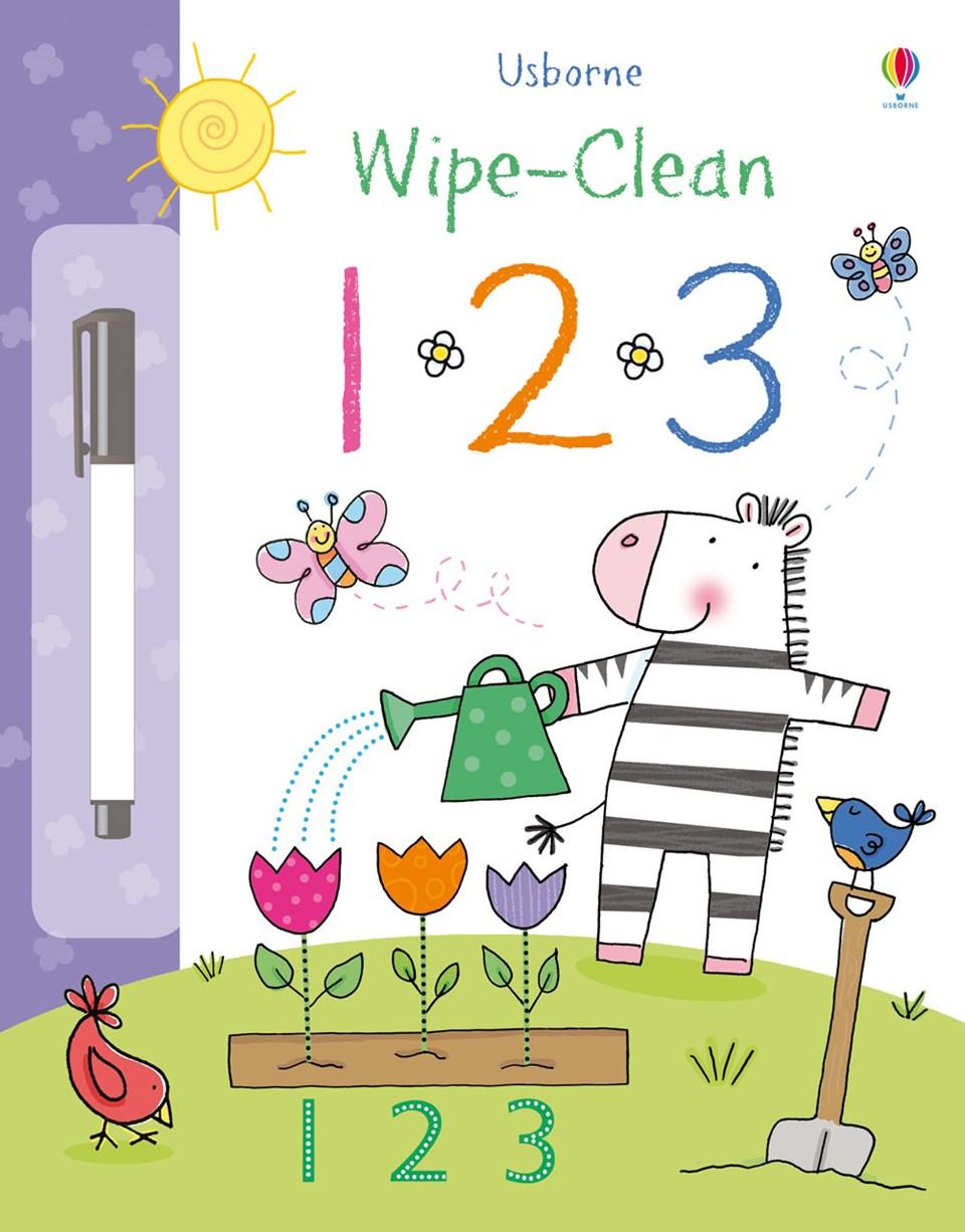 Wipe Clean 1 2 3