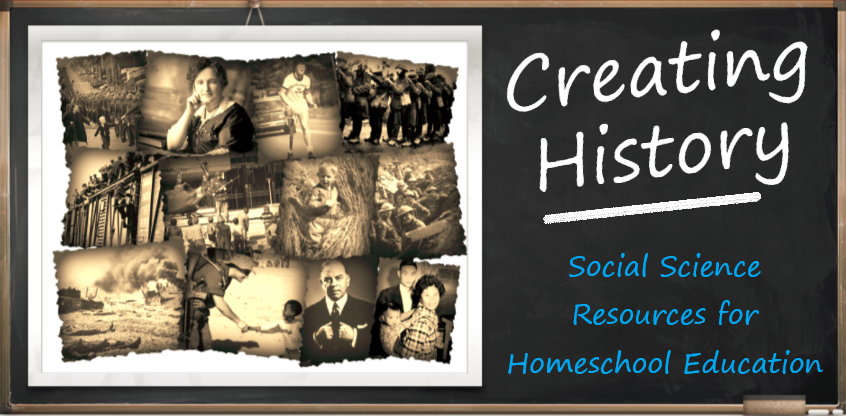 Creating History Website Chalkboard