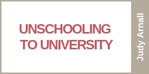 UnschoolToUniversity