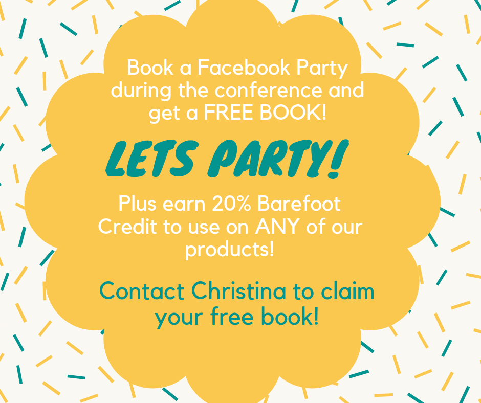 Book Your Facebook Party & earn FREE BOOKS