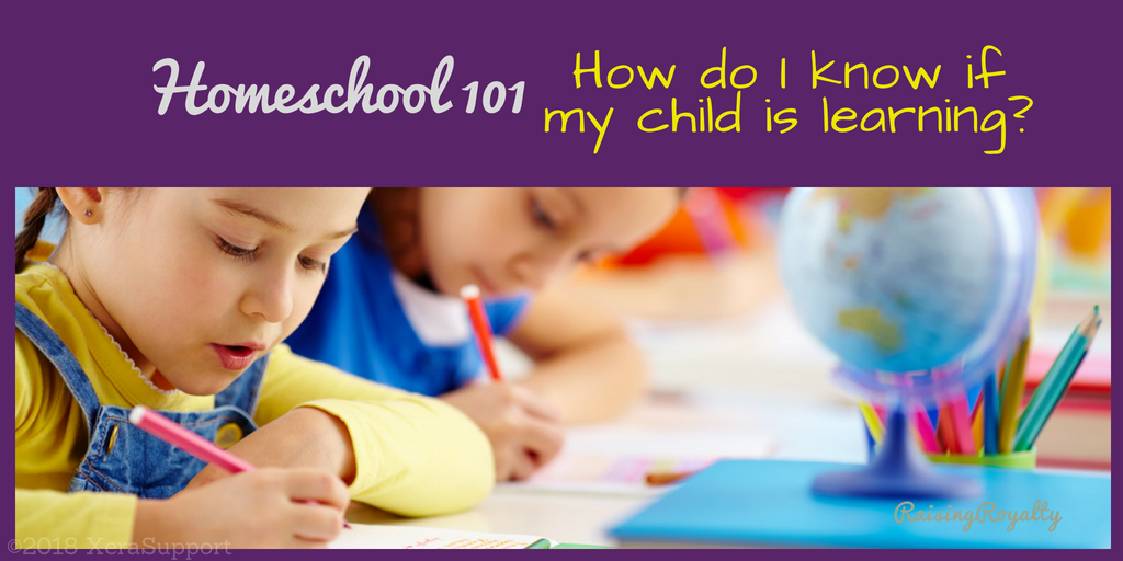 child learning homeschool 101 title